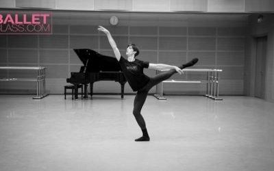 Xander Parish Ballet Class